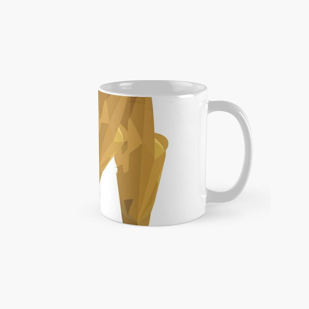 M - Die goldenen Buchstaben Tasse (Standard)