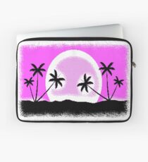 EGA SUNSET with pixel graphics Laptop Sleeve