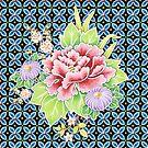 Bouquet Brocade by PatriciaSheaArt