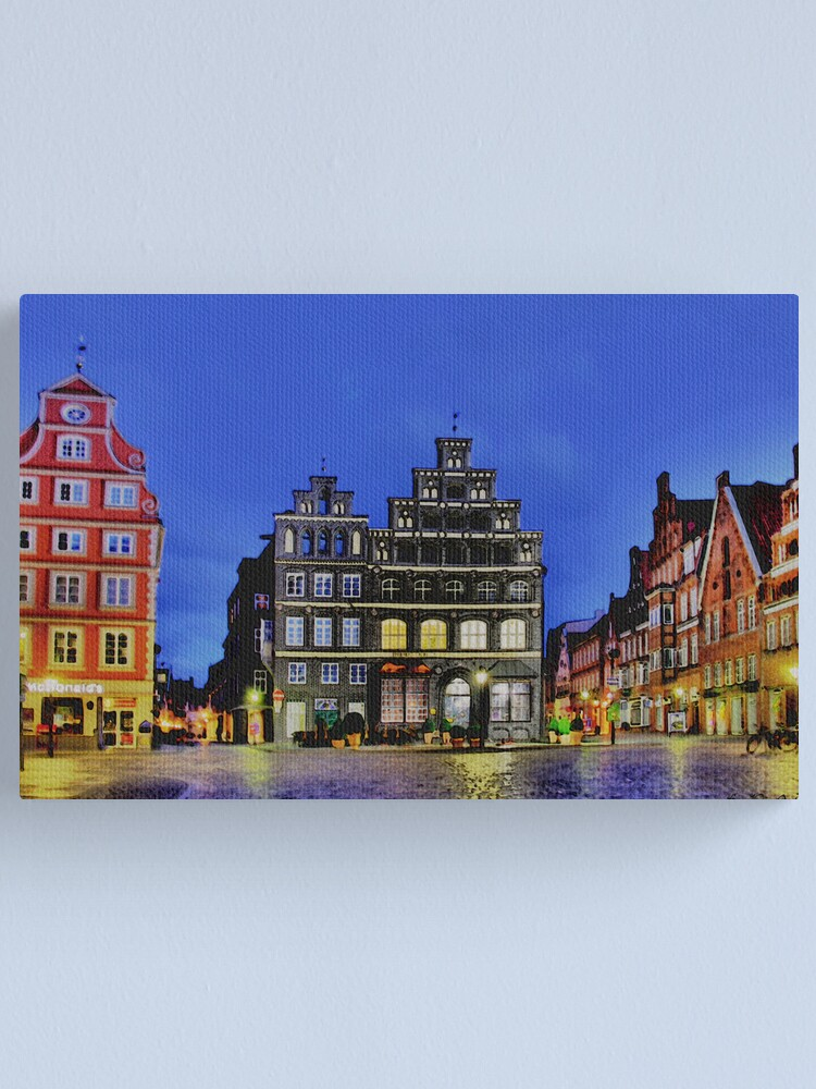 Alternate view of Lüneburg City Canvas Print