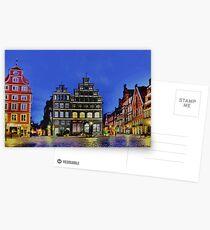 Lüneburg City Postcards
