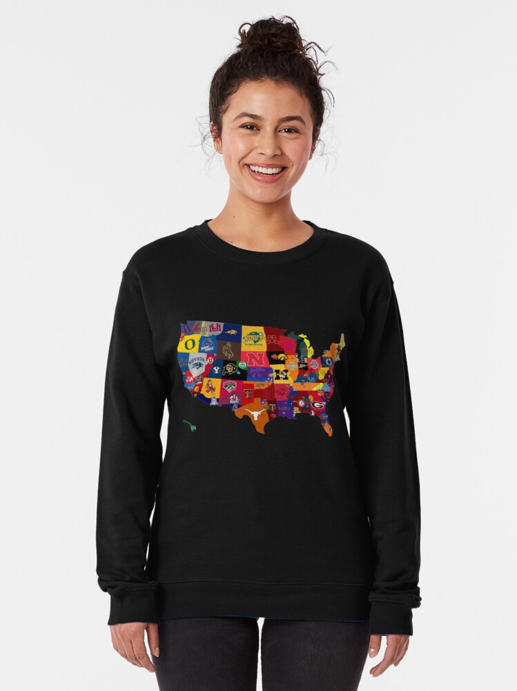 Alternate view of College Country Pullover Sweatshirt