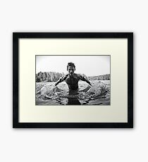 One of God's Better People Framed Print
