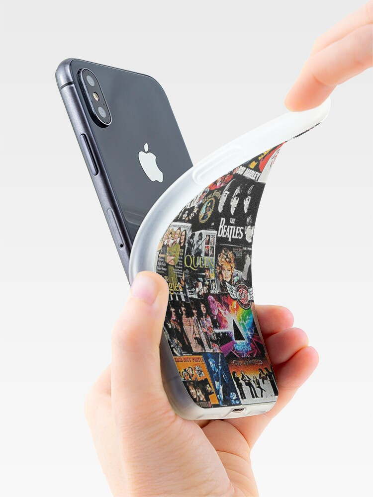 Alternate view of Rock Collage iPhone Case & Cover