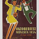 Oktoberfest 1954 by edsimoneit