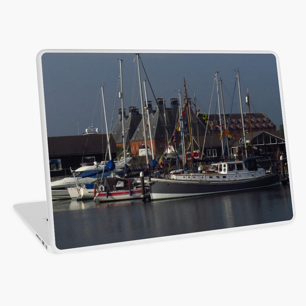 Boote und Mälzerei, Ipswich Wet Dock Laptop Folie
