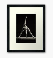 Rock my soul Framed Print