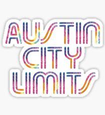 Austin City Limits Sticker