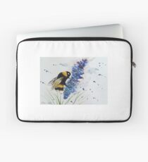 Bumble bee and Lavender  Laptop Sleeve