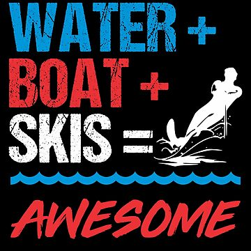 Water Skiing Boating Boat Lovers Apparel by highparkoutlet
