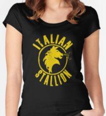 Italian Stallion Women's Fitted Scoop T-Shirt