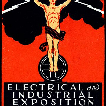 1926 New York City Electrical Industrial Exposition by historicimage