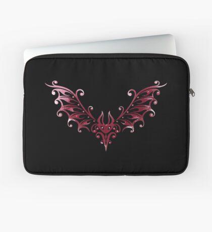 Süße Tribal Fledermaus, kleiner Blutsauger Laptoptasche