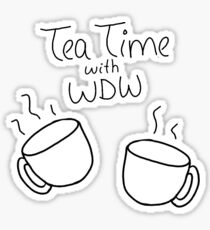 Tea Time with Why Don't We Sticker