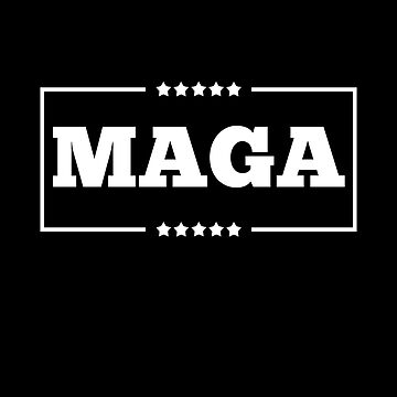 MAGA America Is Great Pro Trump In White Shirt Gear by DynamicDesign