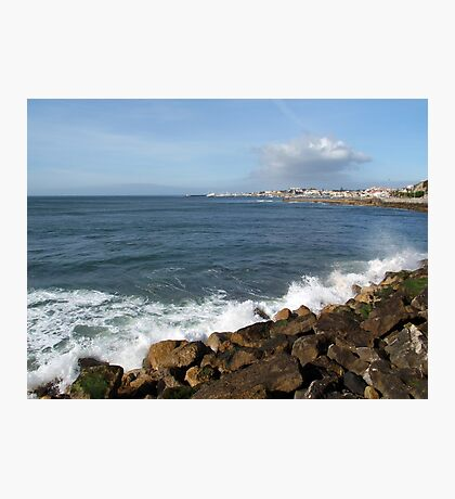 Looking towards Cascais Photographic Print