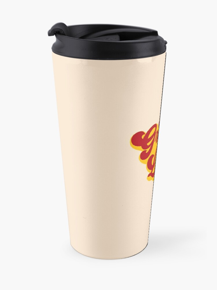 Alternate view of BE GROOVY OR LEAVE Travel Mug