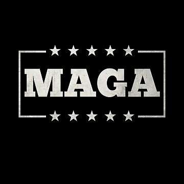 MAGA America Is Great Pro Trump In Metal Shirt Gear by DynamicDesign