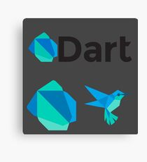 Dart Multi x3 Canvas Print