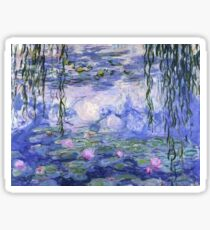 Monet Water Lilies Sticker