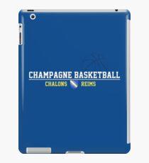 Champagne Basket 2 Blue iPad Case/Skin