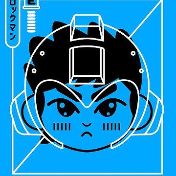 Cyber Helmet Rokkuman II by DemonigoteCamis