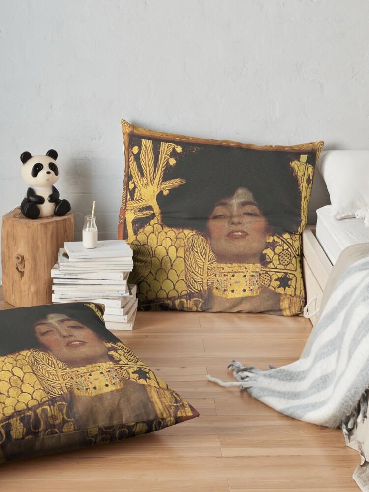 Alternate view of Judith und Holofernes Floor Pillow
