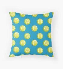 Tennisbälle Muster Dekokissen