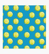 Tennisbälle Muster Fotodruck