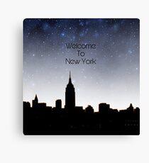 New York edit Canvas Print