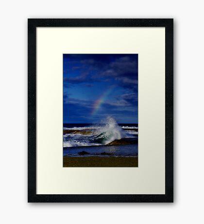 """""""Rainbow Break"""" Framed Print"""