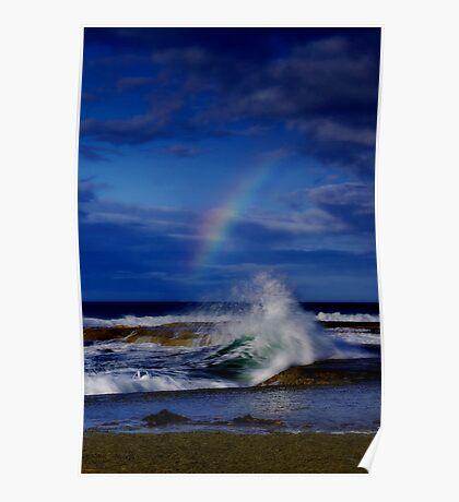 """""""Rainbow Break"""" Poster"""