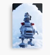 Battle Of Hoth Metal Print