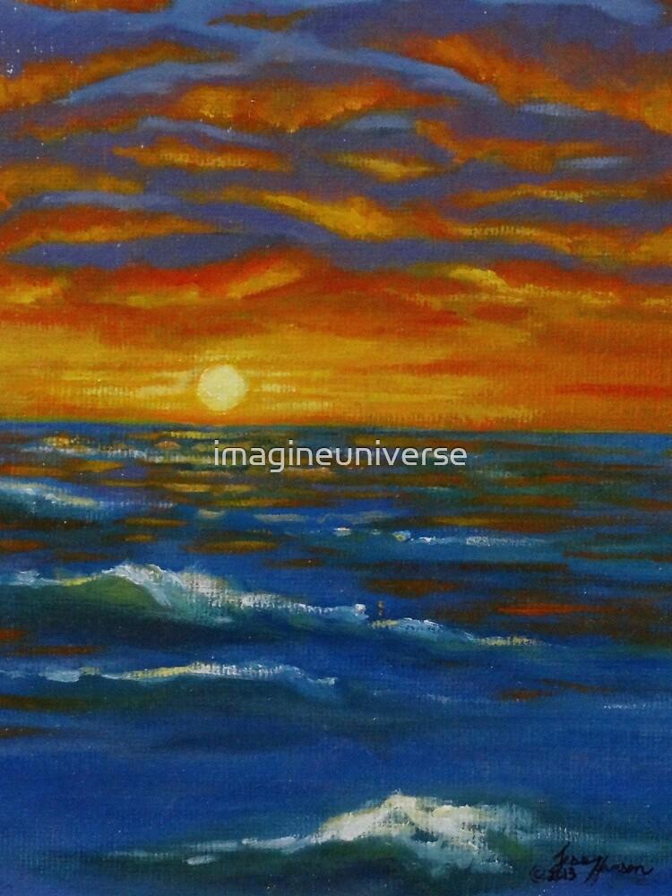 Sonnenuntergang Ozean von imagineuniverse