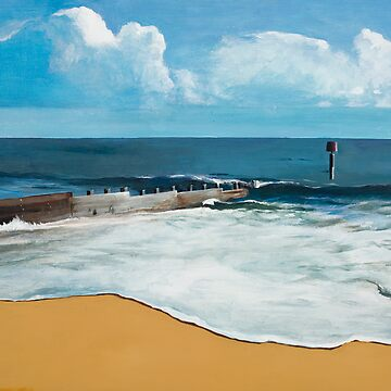 Seascape with Groyne by bournemonkey