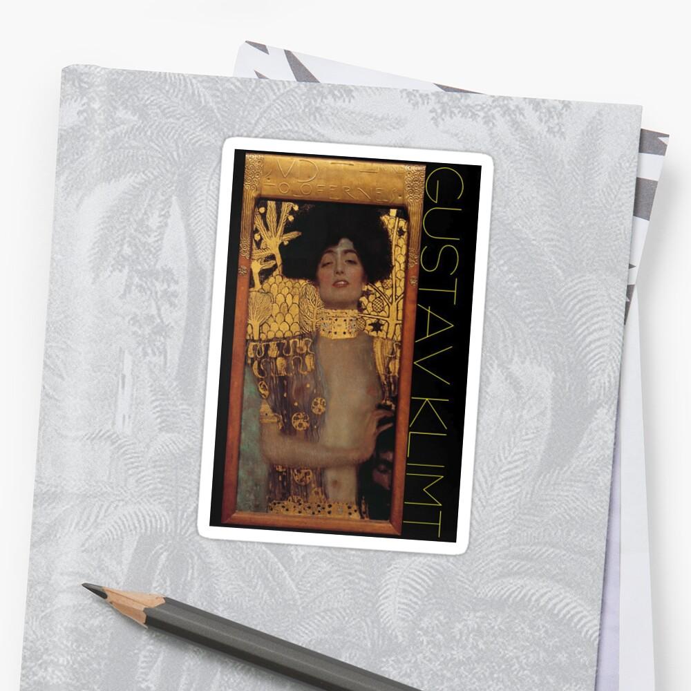Judith und Holofernes... Gustav Klimt 1901 Sticker