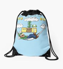 """Ahh, The Good Life!"" Drawstring Bag"