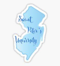 Peter's Saint University Sticker