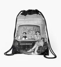 Portraiture Drawstring Bag