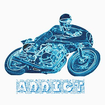 MOTORCYCLE ADDICT by mariettesar
