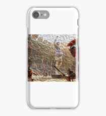 Gladiators in battle iPhone Case/Skin