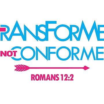 Transformed Not Conformed by identiti