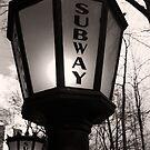 Subway Lamp by Carlos Restrepo
