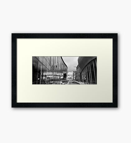 Reflection on Half Moon Street Framed Print