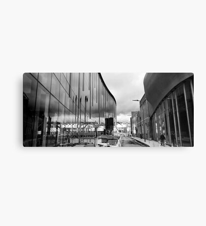 Reflection on Half Moon Street Canvas Print