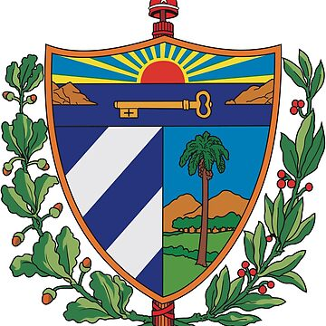 Cuban Coat of Arms If you like purchase, try a cell phone cover thanks by zwrr16