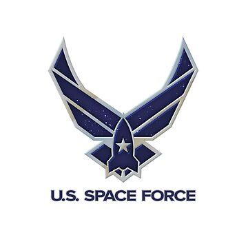 US Space Force Sticker by RixxJavix