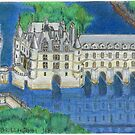 A French Castle by Kashmere1646