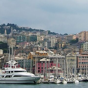 Genoa skyline II by tomg