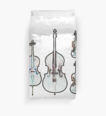 The Four Strings - Violin, Viola, Cello, Bass Duvet Cover